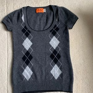 Juicy Couture Cashmere T-Shirt Size S